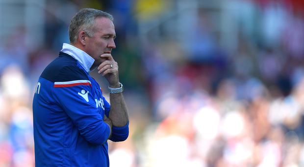 Paul Lambert was appointed by Stoke in January (Dave Howarth/EMPICS)