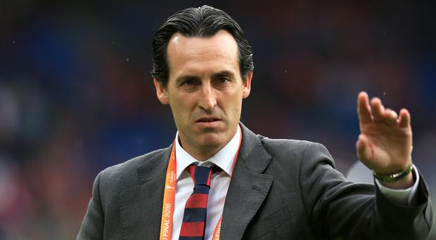Unai Emery is expected to replace Arsene Wenger