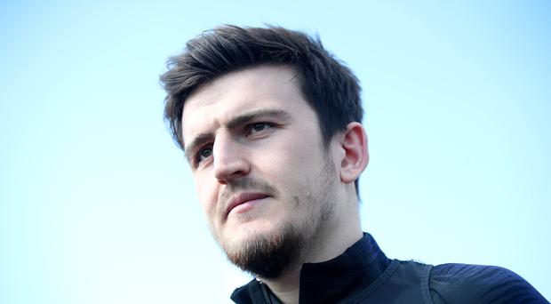 England's Harry Maguire admits he can hardly believe his dramatic rise (Adam Davy/PA)