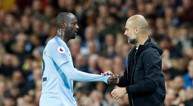 Yaya Toure played his last game for Manchester City in May (Martin Rickett/PA)