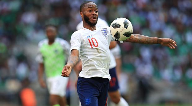 Raheem Sterling says he has not been affected by the controversy surrounding him heading into the World Cup (Mike Egerton/EMPICS)