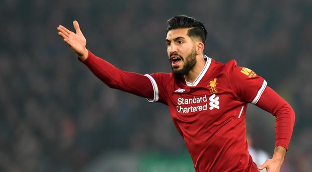 Liverpool Emre Can's departure has been confirmed after his contract expired (Credit: Anthony Devlin/PA).