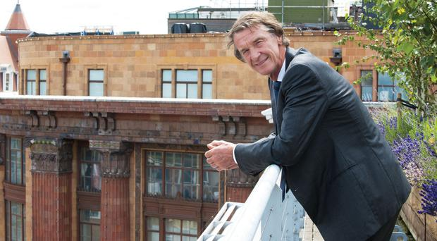 Jim Ratcliffe is reported to have made a bid to buy Chelsea (Ken Lennox/Ineos)