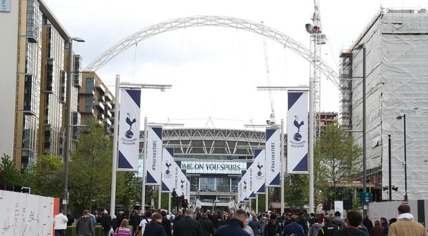 Tottenham played the entire 2017/18 campaign at Wembley (Paul Harding/EMPICS)
