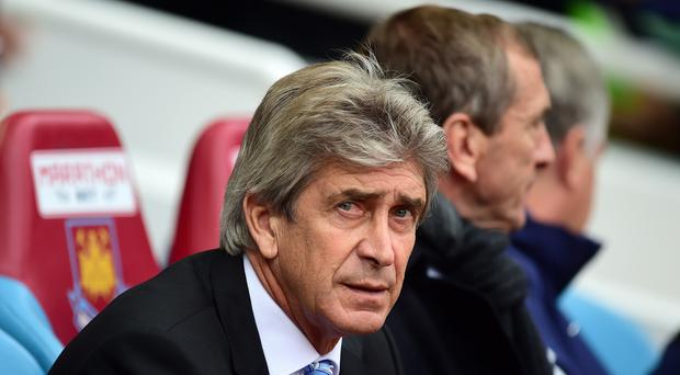 New West Ham manager Manuel Pellegrini is looking to strengthen his squad (Adam Davy/Empics)