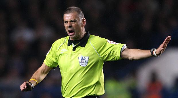 Mark Halsey officiated in England's top flight between 1999 and 2013 (Nick Potts/PA)