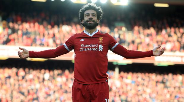 Mohamed Salah has been rewarded for his impressive first season at Liverpool (Peter Byrne/PA)