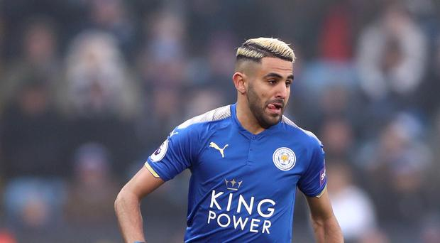 Leicester's Riyad Mahrez is closing in on a move to Manchester City (Tim Goode/PA)