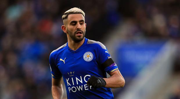 Riyad Mahrez has paid tribute to former club Leicester after joining Manchester City (Mike Egerton/PA)
