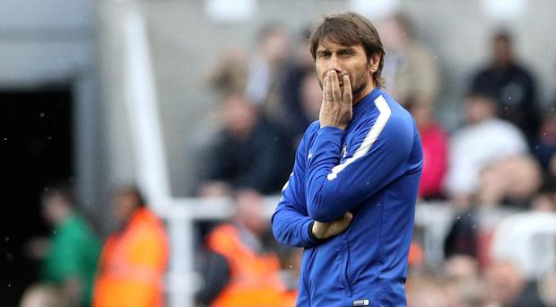 Antonio Conte has been sacked as Chelsea head coach, according to reports (Owen Humphreys/PA)