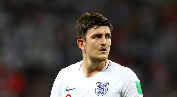 Harry Maguire is a reported target for Manchester United (Tim Goode/PA)
