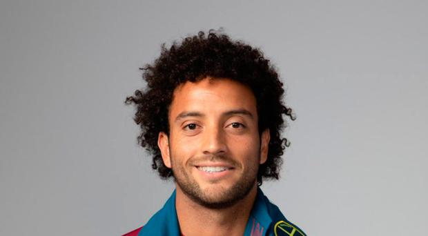 Big money: Felipe Anderson has signed for nearly £40m