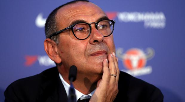 Maurizio Sarri admits to previous mistakes (Steve Paston/PA)