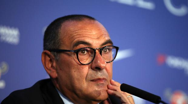 New Chelsea head coach Maurizio Sarri wants face-to-face talks with Eden Hazard and Thibaut Courtois (Steve Paston/PA)