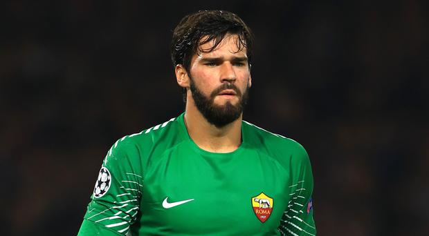 Liverpool made Roma's Alisson the world's most expensive goalkeeper.
