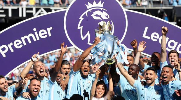 Will any team get close to Manchester City in 2018-19? (Martin Rickett/PA)