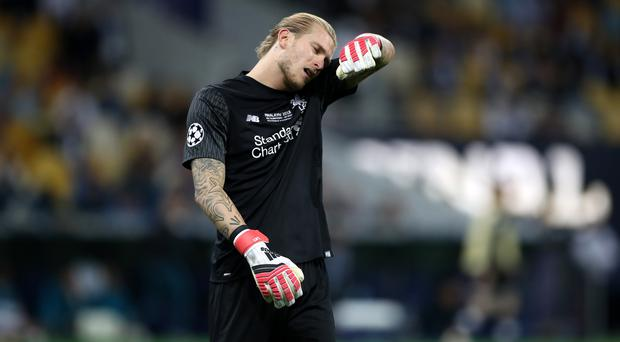 Loris Karius was at fault for two of Real Madrid's goals in the Champions League final (Nick Potts/PA)