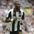 Chancel Mbemba moves on after three years at St James' Park (Anna Gowthorpe/PA)