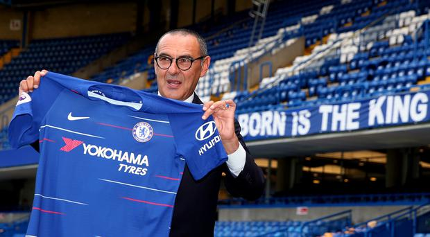 New Chelsea manager Maurizio Sarri took charge of his first pre-season match in Australia (Steve Paston/PA)