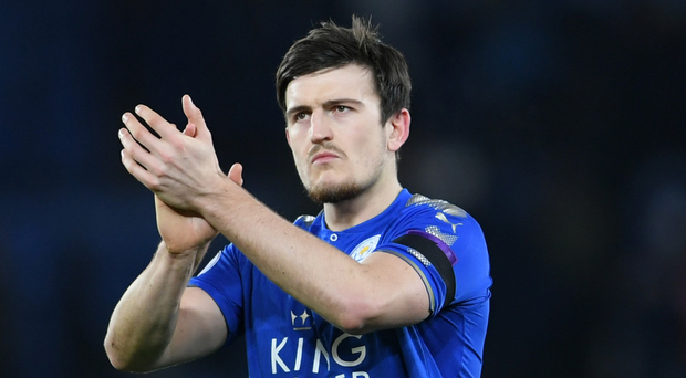 Case for defence: Leicester defender Harry Maguire tops Manchester United's hit list
