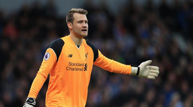 Liverpool goalkeeper Simon Mignolet is wanted by Barcelona (Adam Davy/PA)