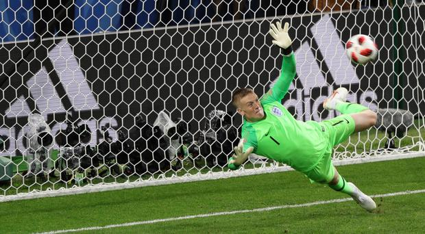 Jordan Pickford enjoyed a fine World Cup as England's first-choice goalkeeper. (Aaron Chown/PA)