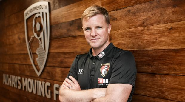 Eddie Howe, pictured, has hailed England boss Gareth Southgate's managerial style (Andrew Matthews/PA)