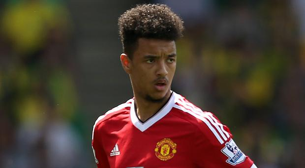 Cameron Borthwick-Jackson has left Manchester United to join Scunthorpe on loan (Adam Davy/PA)