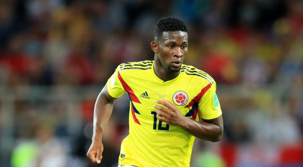 Bournemouth have agreed a fee to sign Colombia midfielder Jefferson Lerma, pictured, from Levante (Adam Davy/PA)