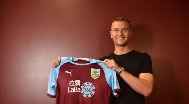 New Burnley signing Ben Gibson (Burnley Football Club)