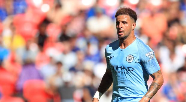 Kyle Walker is determined for standards to keep improving at Manchester City (Adam Davy/PA Images)