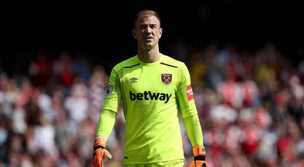 Joe Hart spent last season at West Ham (Mark Kerton/PA)