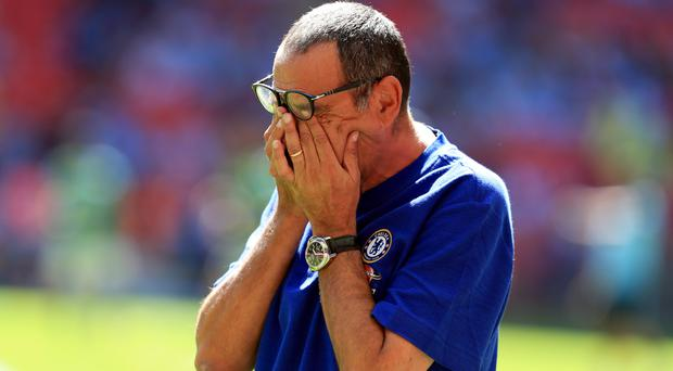 Maurizio Sarri is set to pay a record fee for a goalkeeper (Mike Egerton/PA)