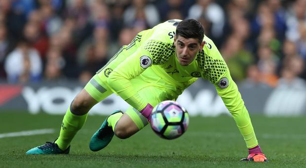 Kepa Arrizabalaga is apparently closing in on a move to Chelsea as Thibaut Courtois, pictured, eyes a departure (Nick Potts/PA Images)