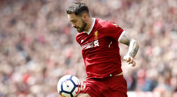 Liverpool striker Danny Ings has joined Southampton (Martin Rickett/PA)