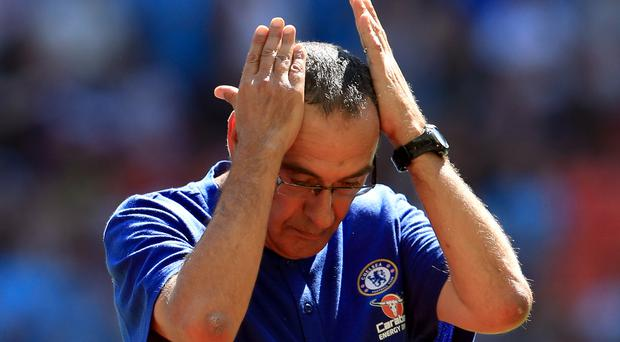Maurizio Sarri expects a challenging start to life at Chelsea (Mike Egerton/PA Images)
