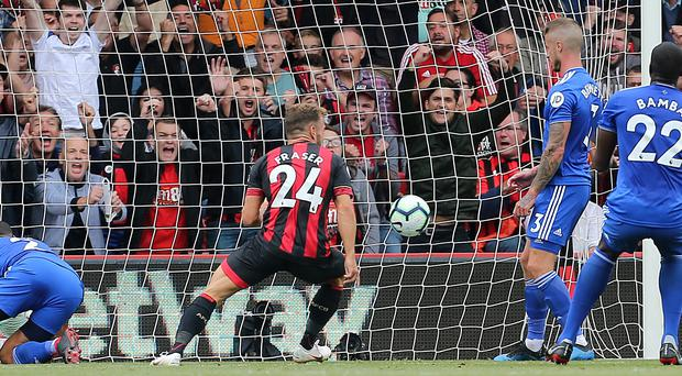 Ryan Fraser claimed the opening goal (Mark Kerton/PA)
