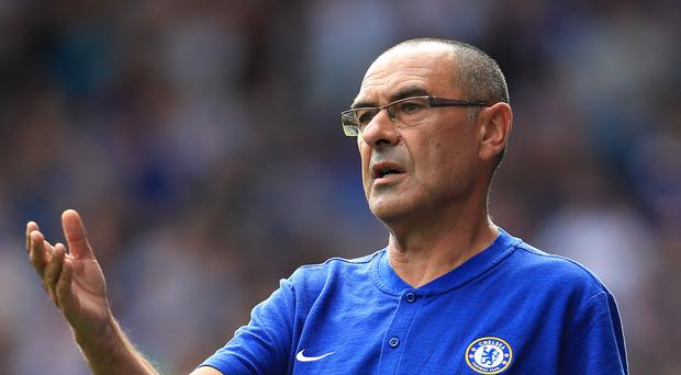 Chelsea manager Maurizio Sarri enjoyed a winning start to life in the Premier League (Mike Egerton/PA)
