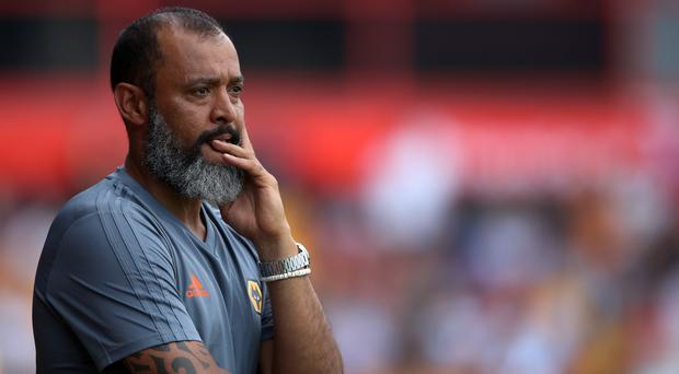 Wolves boss Nuno Espirito Santo saw plenty of positives (Nick Potts/PA)