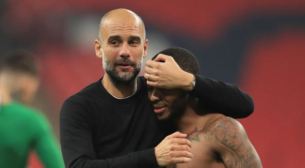 Pep Guardiola wants Raheem Sterling to stay at Manchester City (Adam Davy/PA Images)