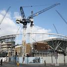 Tottenham's new stadium will not be ready for next month's planned opening (Adam Davy/PA)