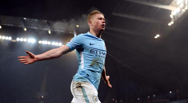 Manchester City's Kevin De Bruyne faces a spell on the sidelines (Martin Rickett/PA)