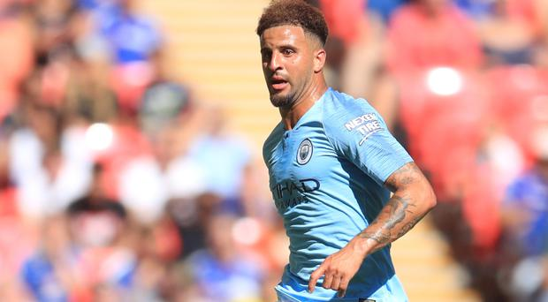 Kyle Walker won the Premier League in his debut season at City (Adam Davy/PA)
