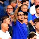 Maurizio Sarri won his first game at Stamford Bridge (Victoria Jones/PA)
