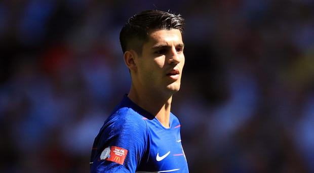 Alvaro Morata was on target in Chelsea's 3-2 win over Arsenal on Saturday (Adam Davy/PA Images)