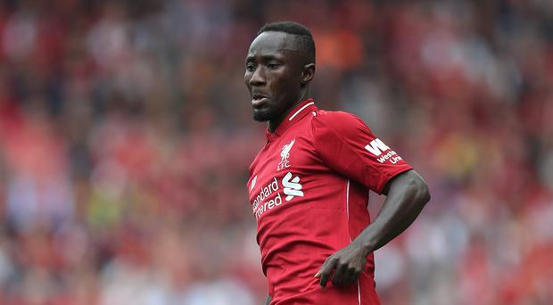 Naby Keita excelled on his Liverpool debut (David Davies/PA)