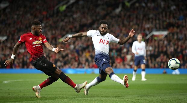 Danny Rose, right, was given a recall by Spurs at Old Trafford (Nick Potts/PA)