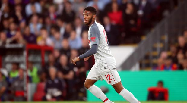 Joe Gomez is happy to be back in the England squad (Nick Potts/PA)