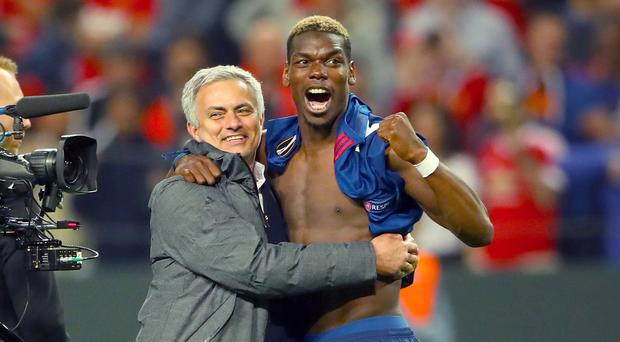 Paul Pogba and Jose Mouringo have had some highs and lows (PA file)
