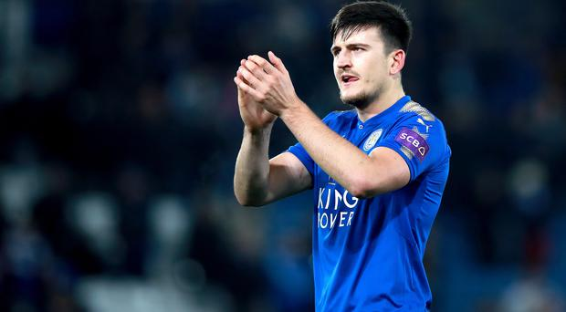 Harry Maguire is staying at Leicester (Mike Egerton/PA)